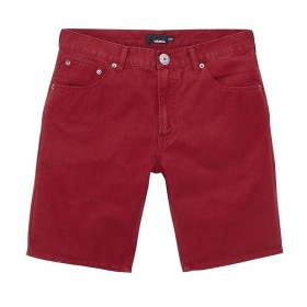 VANCL All Cotton Refined Casual Shorts (Men's) Red SKU:36238