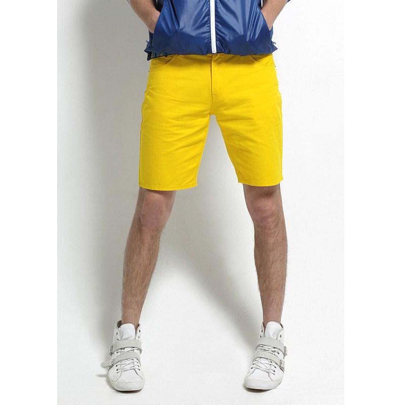 Yellow Mens Shorts