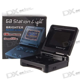 GB Station Light Game Console with TV-Out and 380-in-1 Game Cartridge SKU:29726