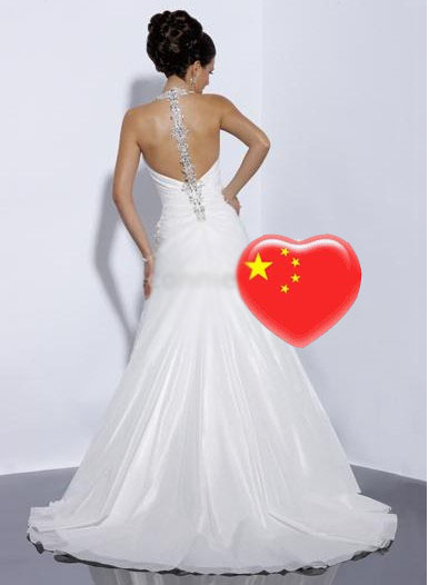 2010 sexy wedding dresses all size white ivory wholesale for Discount wedding dresses maryland