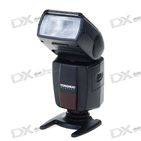 YONGNUO YN460 Speedlite Flash-támasszal + Soft Pouch (slave üzemmódban / Index 33 / 5600K / 4 * AA) SKU: 32.981