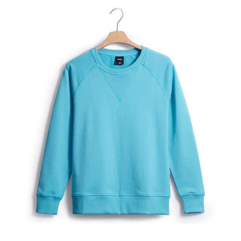 VANCL Laurel Crew Neck Raglan Sweater Aqua Blue – Wholesale VANCL ...