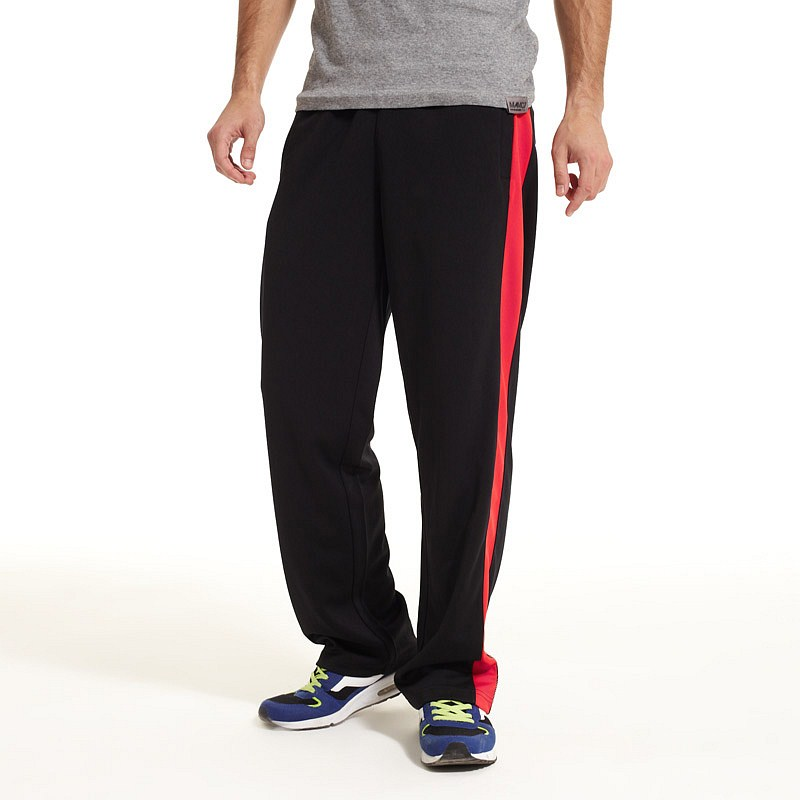 vancl aziz contrast stripe sweatpants men s black