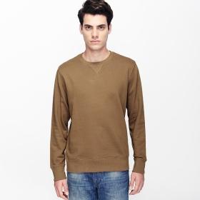 VANCL Hanford Plain Crew Neck Sweater (Men) Earth SKU:180549