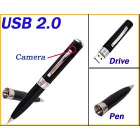 10 pcs/lot spy mini dvr camera pen (640*480) with 2G 4G build in flash