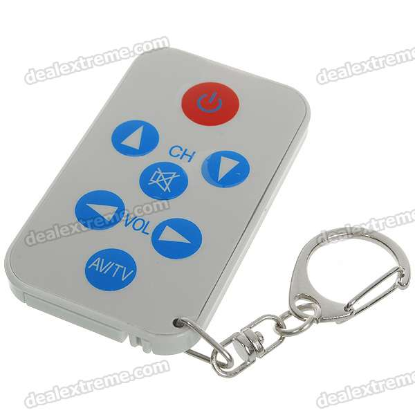 mini universal remote keychain instructions