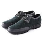 VANCL Earl Suede Leather Casual Shoes (Men) Deep Green SKU:161097