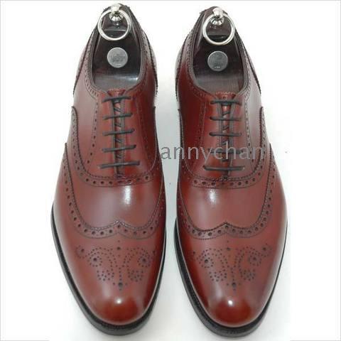 Bolano Mens Two Tone Purple White Wingtip Style Oxford Dress Shoe