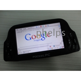 Nagykereskedelmi - 2db Mini Pocket PC palmtop netbook laptop 4,3 hüvelykes érintőképernyő Wifi vezeték nélküli hálózat Win CE