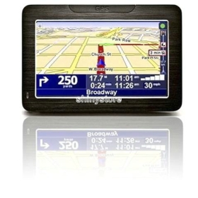 car GPS navigation system 4.3 4 inch  screen with the latest maps Vehicle Tracking Systems device