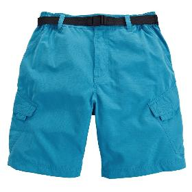 VANCL Mark Cotton Pockets Shorts (Men) Sky Blue SKU:197122