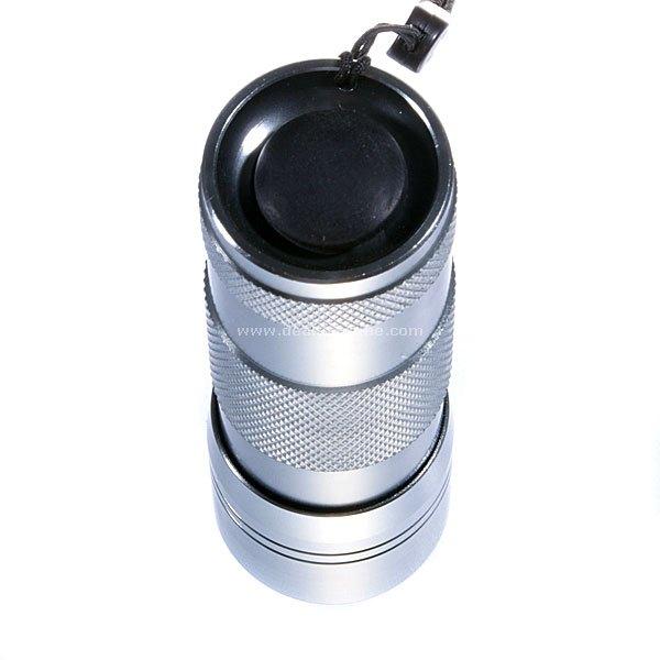 DX 12 LED IR InfraRed Flashlight Silver 3 SKU 2047 ...