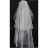 NEW arrival Perfect! beautiful Wedding  Veils with white best popular  gift free shipping 6695
