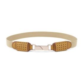 VANCL Jenny Fashion Elastic Belt (Women) Yellow SKU:733522