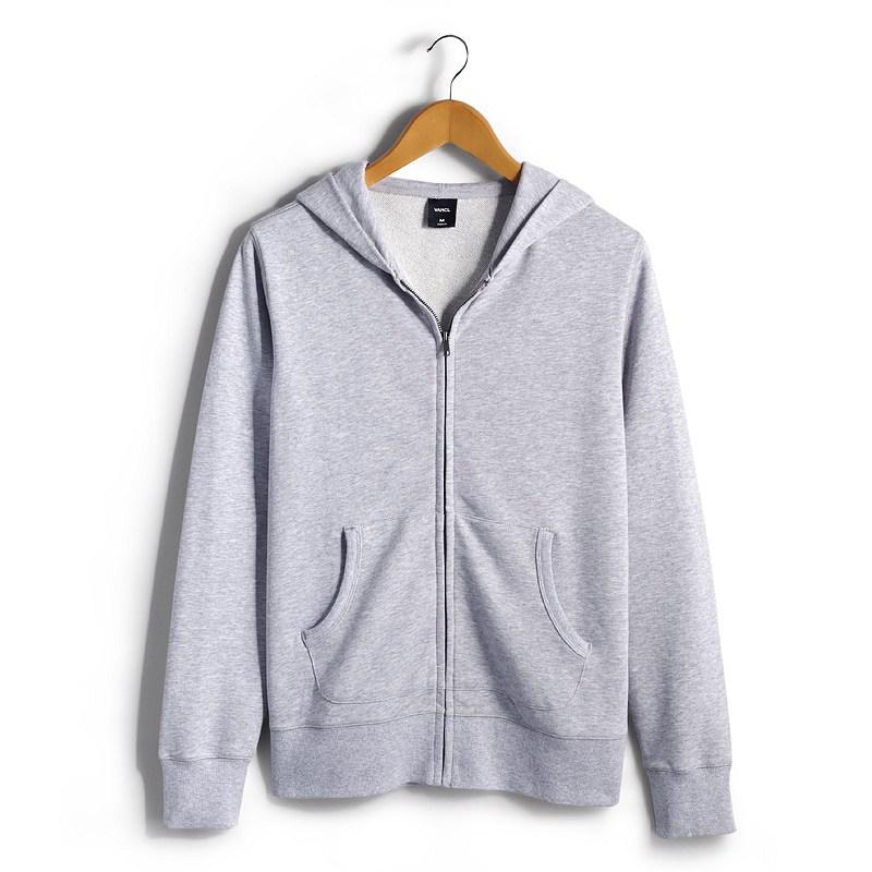 Mens Light Grey Hoodie | Fashion Ql