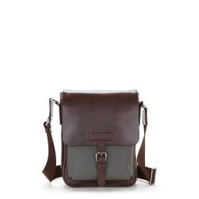 VANCL Sammy Elegant Shoulder Bag (Men) Gray/Coffee SKU:188747