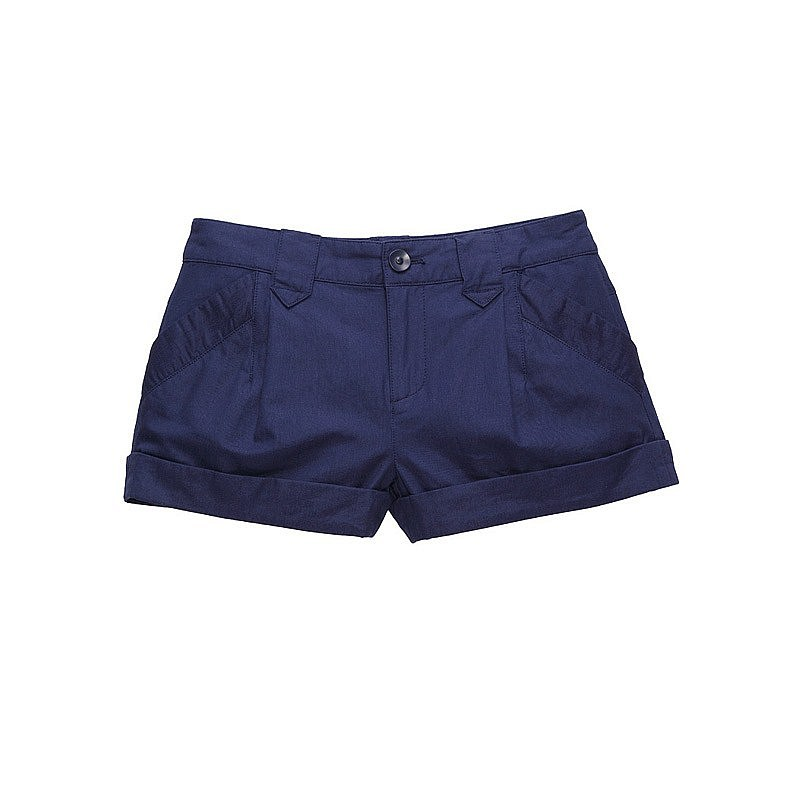 Navy Blue Shorts For Women - The Else