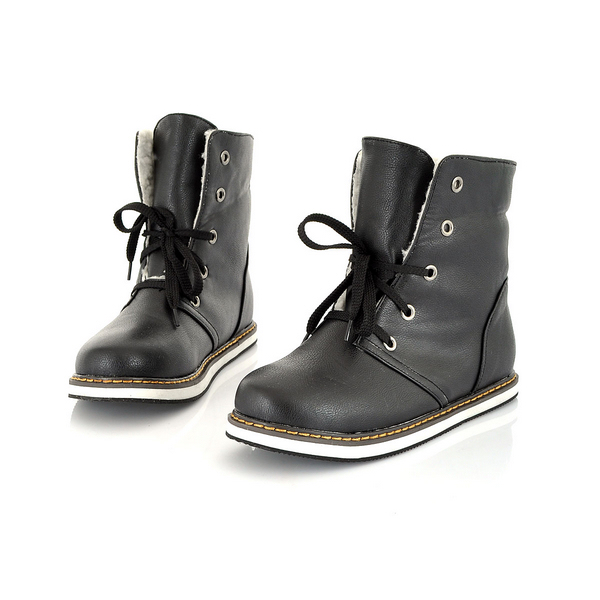Ankle Leather Boots For Women - Yu Boots