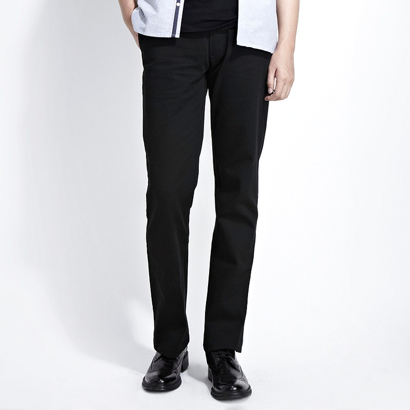 black cotton pants men - Pi Pants