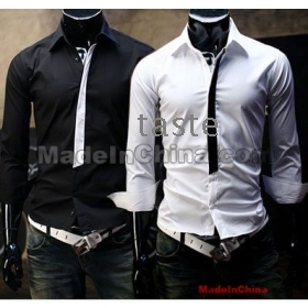 Black And White Mens Shirt | Is Shirt