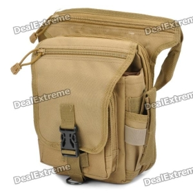 Stylish Multi-Functional 600D Paulin Leg Bag - Earthy SKU:117795