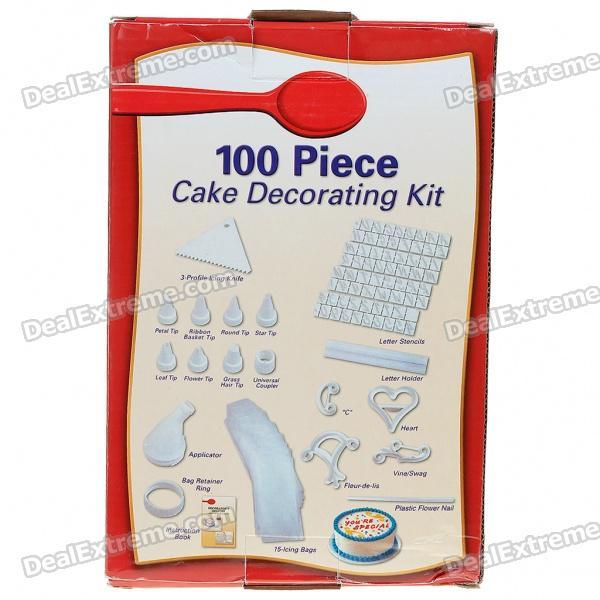 Piece Cake Decorating Kit Manual