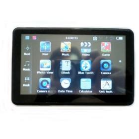 4GB HD 800*480 5 inch DVR GPS navigator with DVR bluetooth AV-IN 128RAM