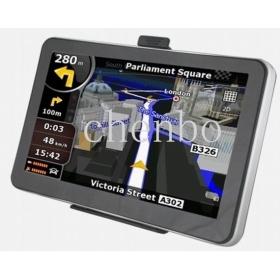 "7"" Screen LCD Windows CE NET 6.0 GPS Navigator with DVB-T/AV/Europe Maps (4GB)"