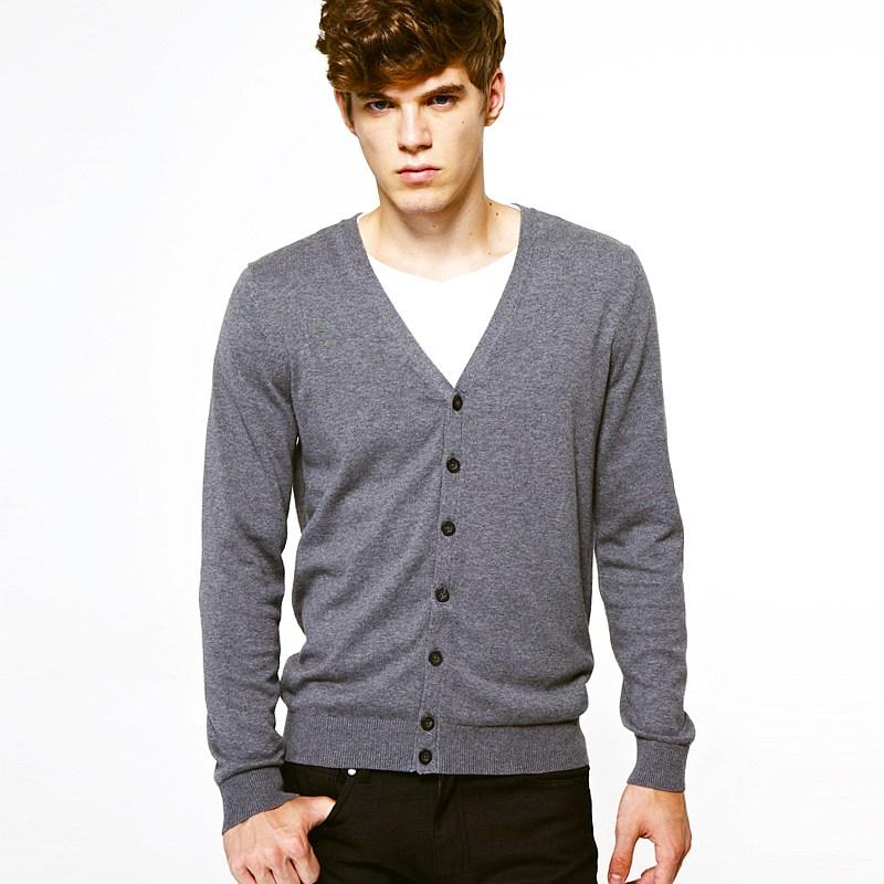 VANCL Martin All Match Knit Cardigan Men Dark Gray – Wholesale ...