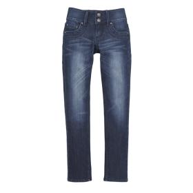VANCL Fading  Tapered Jeans W166 Denim Blue SKU:108528