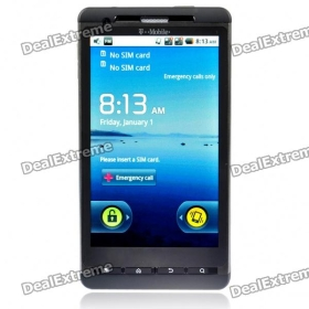 """4.3"""" Capacitive LCD Android 2.2 Dual SIM Dual Network Standby Quadband GSM Cell Phone w/ GPS/Wi-Fi"""
