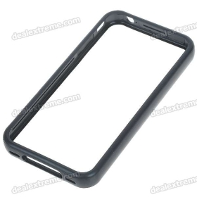Stylish Protective Bumper Frame Case for i/  - Black