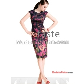 Free Shipping 2012 dress summer dresses for women's dresses new fashion casual dress for women M010