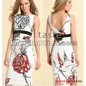 Free Shipping 2012 dress summer dresses for women's dresses new fashion casual dress for women M032