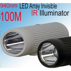 Array-infrared the barrel light source series(940nm  100M optional) IR Illuminator IR Lamp CCTV camera IR light