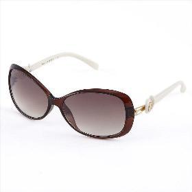 VANCL Fashion Oversized Sunglasses (Women) Dark Brown SKU:120639