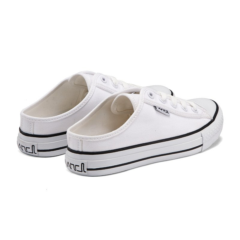 Lacoste Women's Marthe Fashion White Canvas Slip on Sneakers Shoes