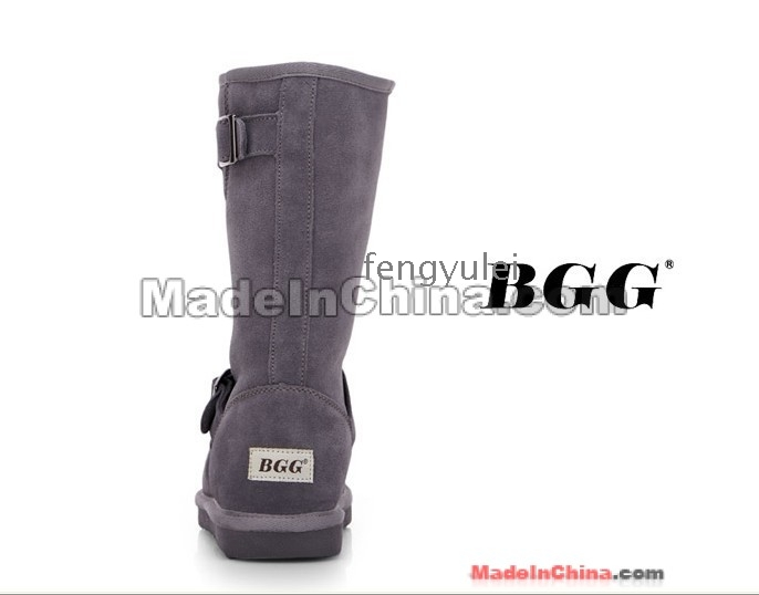 Thermal Made in China BGG Schnee Stiefel Gummisohle Winterstiefel Rindsleder High- Bein Stiefel a01 -58 2013 neue ==
