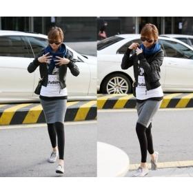 Free shipping HOT SALE Womens Fashion Nubuck Leather Short Jacket Black X09122707