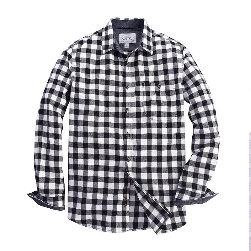 Rockingchair Rakuten Global Market Long Sleeves Shirt Men Vine El An E L Flannel Horizontal Stripe Work Heavy