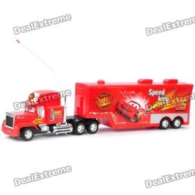 Az autók rajzfilm stílusú Four Channel Super Truck játékok és távirányító - Red SKU: 114633