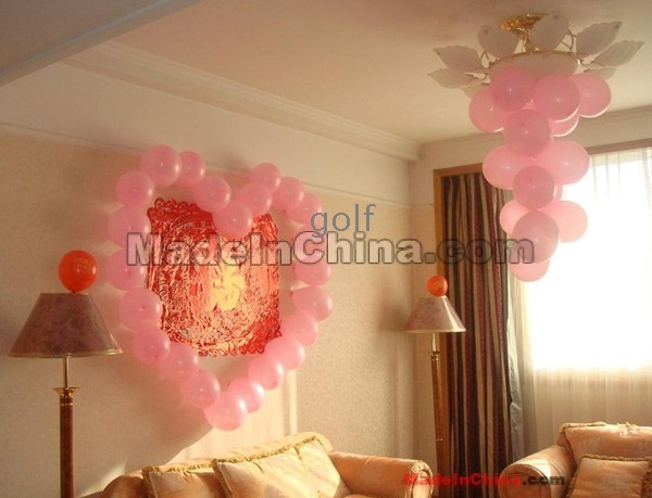 500pcs thick pearl round balloon wedding balloon for Anniversary decoration at home
