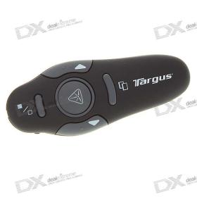 (Csak Nagykereskedelmi) USB RF Wireless Presenter Lézeres Pointer és Trackball PC / Laptop - Fekete (10-Meter Range) SKU: 42957