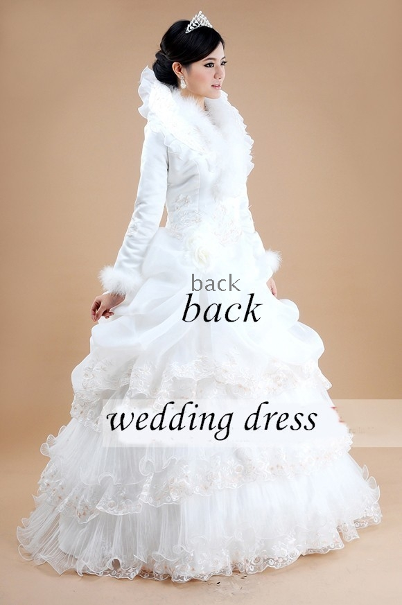 2011 style design elegant winter wedding dresses for Winter wedding dress styles