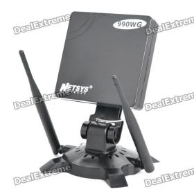 NETSYS 990WG USB 2.0 5800mW 802.11b / g 54Mbps Wi-Fi vezeték nélküli hálózati adapter w / 3-antennák - fekete SKU: 115697
