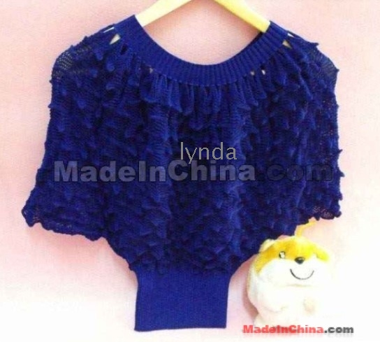 half sleeves knitting cotton batwing sweater   Wholesale Wholesale half sleev...