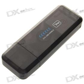 ND-100S SiRF III GPS vevő USB hardverkulcs Laptop (Work with Street & Trips) SKU: 37137