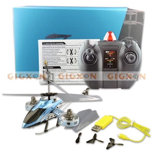 GYRO Mini Radio Control 4 Channel Electric RC Helicopter