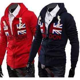 free shipping new men's clothing SWEATER fleeces Thick coat clothing size M L XL XXL #YJ340 H-1