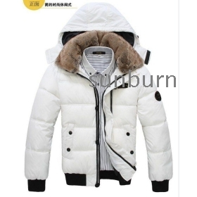 Free shipping, New hot sell Men's coat with fur collar, Winter overcoat, Outwear, Winter jacket, wholesale 5-colors Size:M-XXL